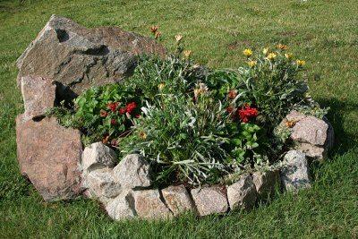Декоративное ограждение из камня