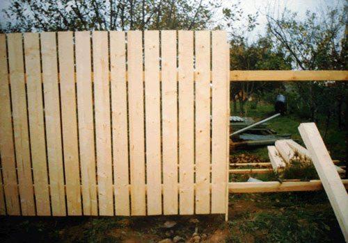 Деревянный забор для дачи – отличный вариант, сочетающий невысокую стоимость, простоту монтажа и прекрасный внешний вид.