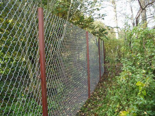 Фото – Забор из сетки