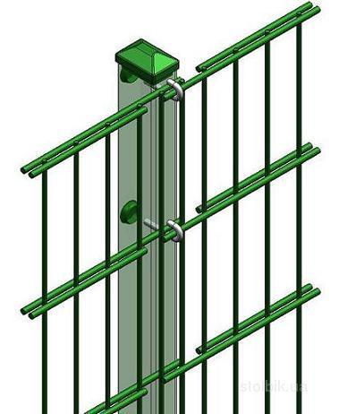 Готовые металлические столбики от производителей – уже продуманные конструкции, для использования которых обязательно должна прилагаться подробная инструкция