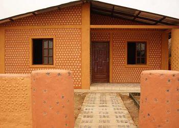 Из этого материала строят не только заборы, но и целые дома