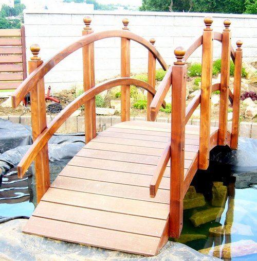 Мосты могут быть и декоративными