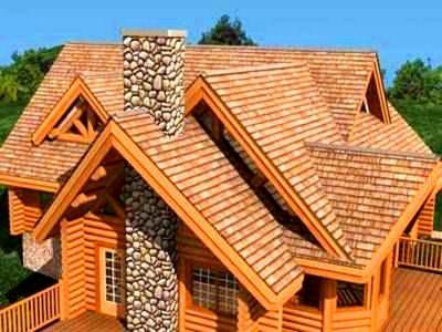 На рисунке изображена многощипцовая крыша – проект ограждения подбирается индивидуальный