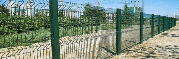 Ограждение территории 3д забором