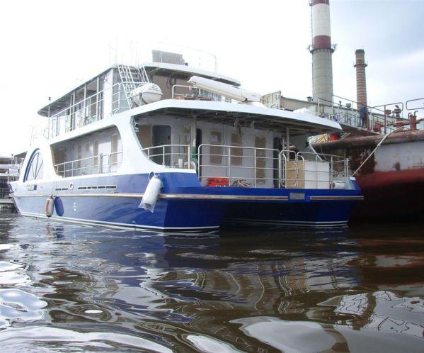 Ограждения леерного типа на яхте