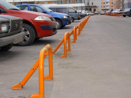 Организованная парковка