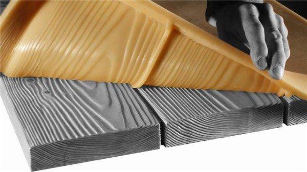 Особенно удобны гибкие полиуретановые формы.