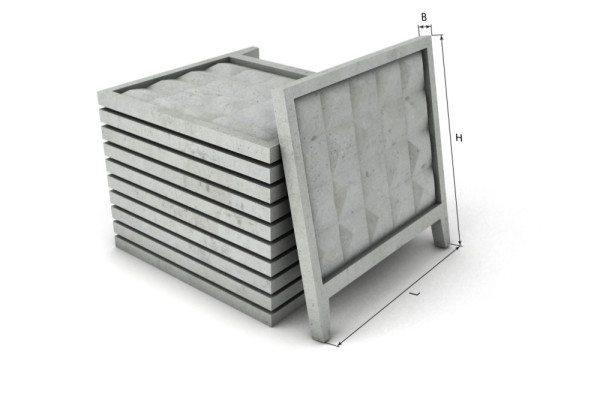 Панели для ограды