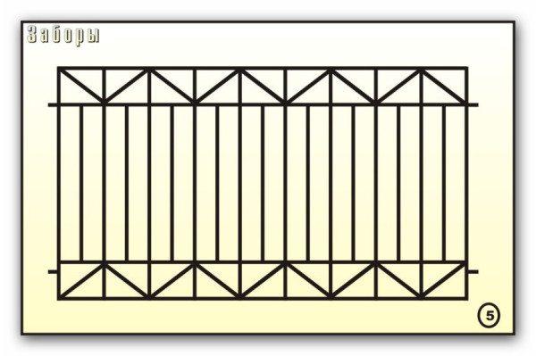 Панелипридают большую жесткость горизонтальные V-образные изгибы.