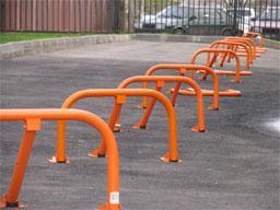 Парковочные барьеры.