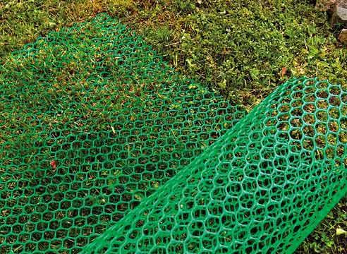 Пластиковая сетка для ограждения