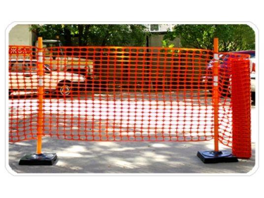 Пластиковая сетка применяется при проведении мелких строительных, реставрационных и монтажных работ.