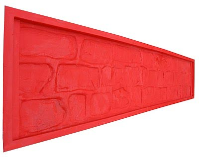 Полиуретановая форма для бетонного забора