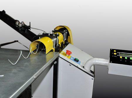 Полуавтомат для производства сетки Рабица