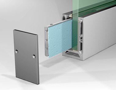 Профиль для стеклянных ограждений – основа надежности конструкции