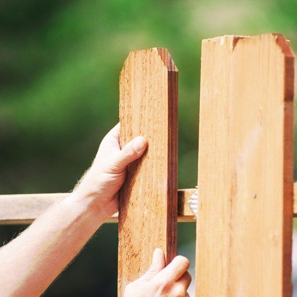 Самостоятельное сооружение ограды на даче</dd></dl></div>