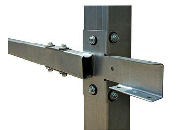 Сборка заборов модульной конструкции напоминает работу с конструктором.