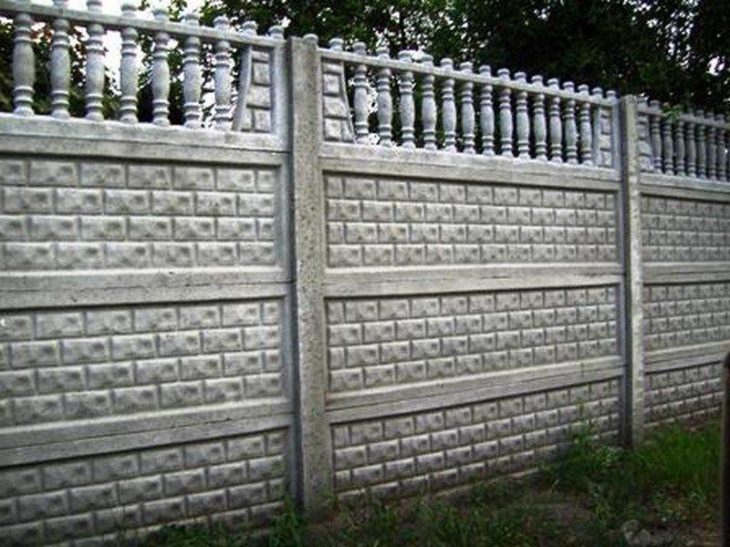 бетона ограда
