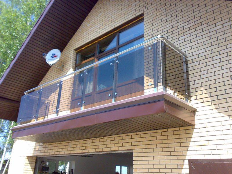 Балконные ограждения и террас: инструкция по монтажу перил с.