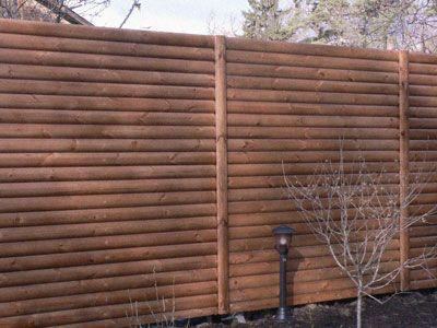 Такая ограда может вызвать возражения у соседей