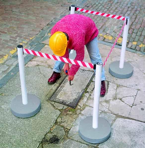 Также ограждения применяются на строительных объектах