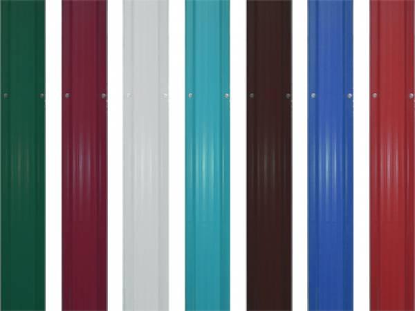 Цветовые решения для штакетных ограждений – выбор есть