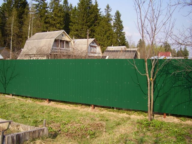 Забор своими руками недорого фото и цены