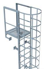 Вертикальная пожарная лестница – удобная необходимость в экстренных случаях