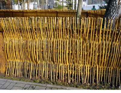 Вертикальный плетень