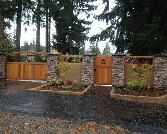 Ворота и калитка – украшение участка