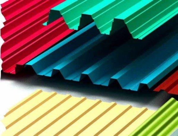 Возможные цветовые гаммы листов