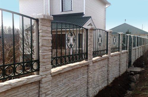 Забор – украшение участка