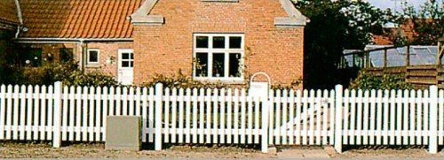 Забор из штакета