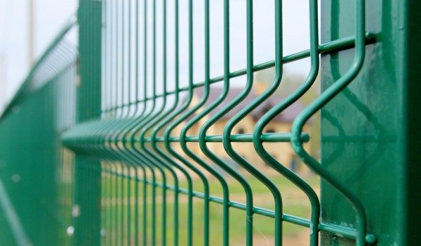 Забор решетчатый металлический