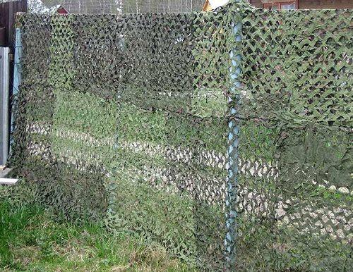 Забор в стиле милитари