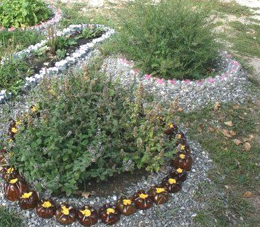 Заборчик для декоративных растений