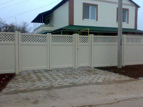 Заборы - ограды - калитки - ворота – полный ограждающий комплект