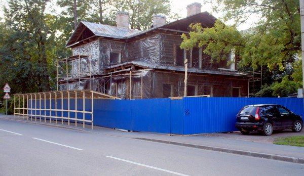 Заграждение стройплощадки