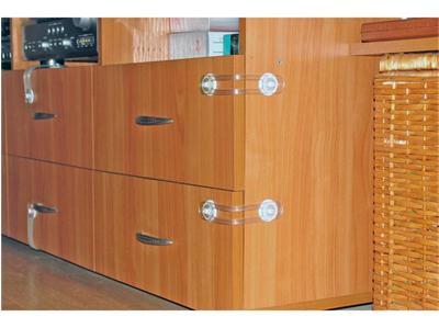 Защита от выдвигания ящиков и открывания шкафов