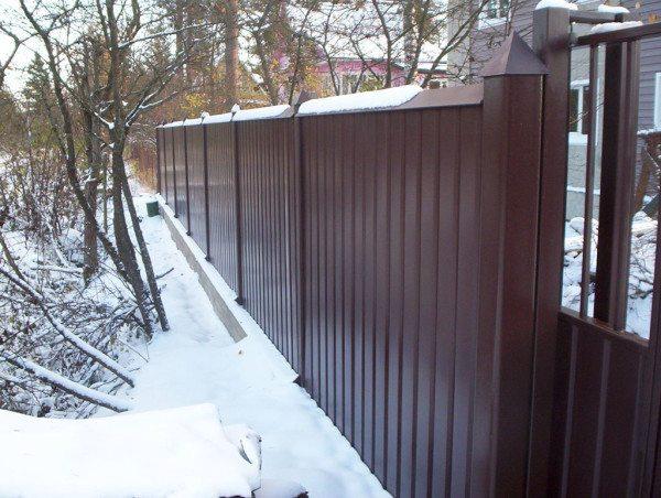 Железо прекрасно переносит не только влагу, но и низкие температуры, при этом поверхность не видоизменяется