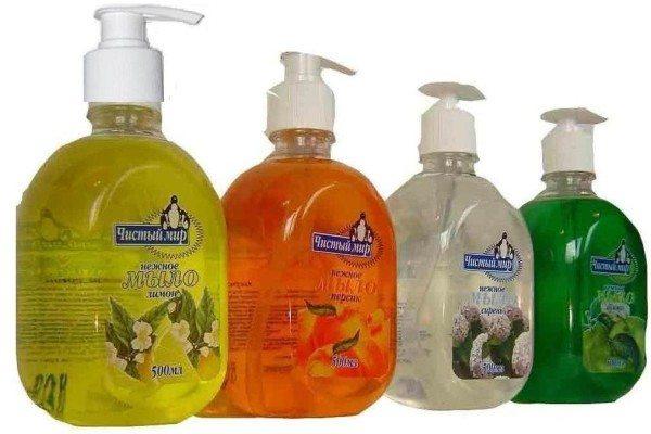 Бытовое жидкое мыло