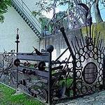 Декоративный забор сделанный своими руками