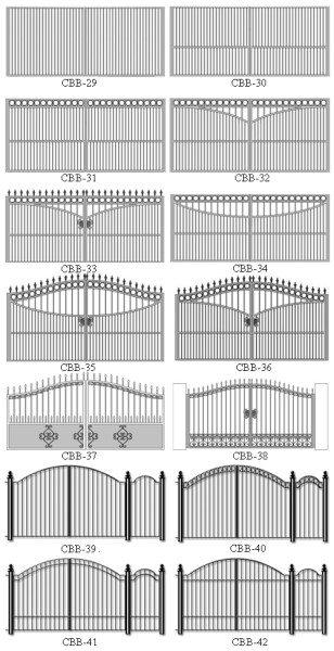 Дизайн секций разного типа