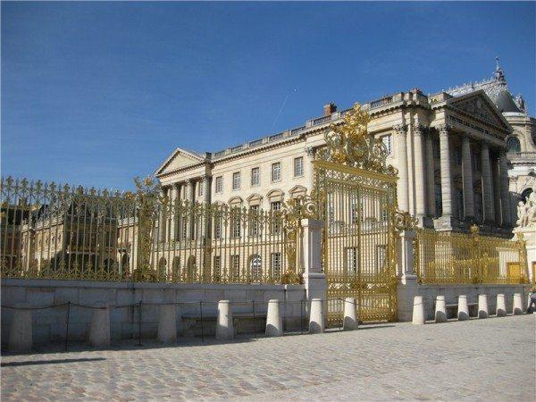 Фото – Парадное ограждение Версаля.