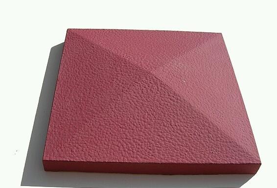 Красный пигмент – поверхность «шагрень»