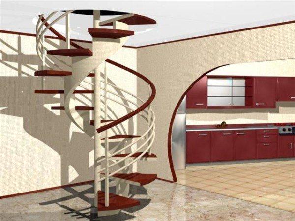 Металлические ограждения и лестницы прочны и надежны.