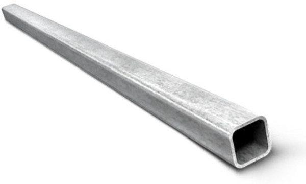 На фото профильная труба, отличный материал для изготовления металлоконструкций