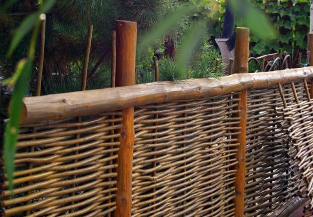 Заборчики своими руками на даче фото