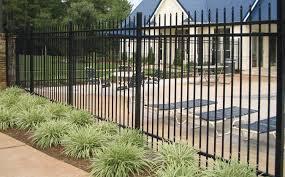 Профильный забор без рамки