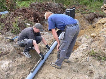 Прокладка водопровода должна осуществляться в соответствии с нормами